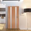 Ламинирана врата Остъклена Infinity Light 2 БУК