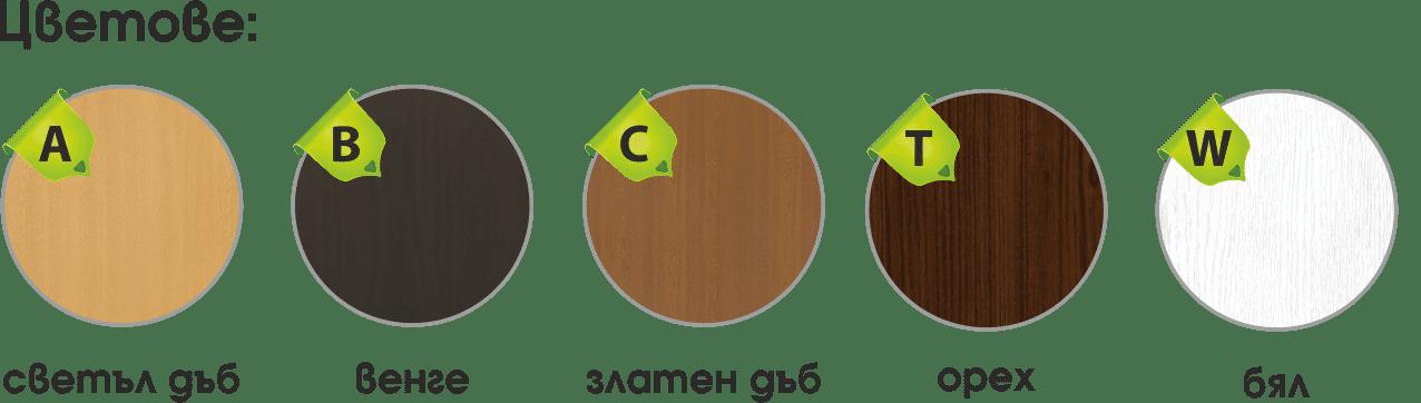 Цветове на интериорна врата 048