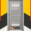 Врата Gradde Blomendal цвят Ясен Вералинга