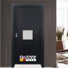 Врата Gradde серия BERGEDORF модел 3 Орех Рибейра