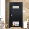 Врата Gradde серия BLOMENDAL модел 5 Орех Рибейра