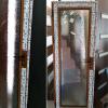 Алуминиева врата с делта стъкло