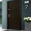 Блиндирана врата Ale Door 403 в цвят Wenge